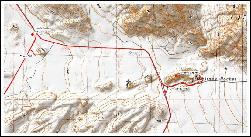 CalTopo map