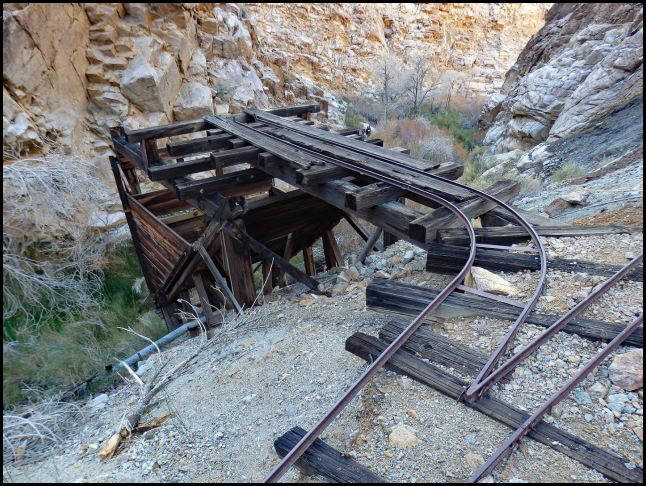 Corona Mine, Jail Canyon