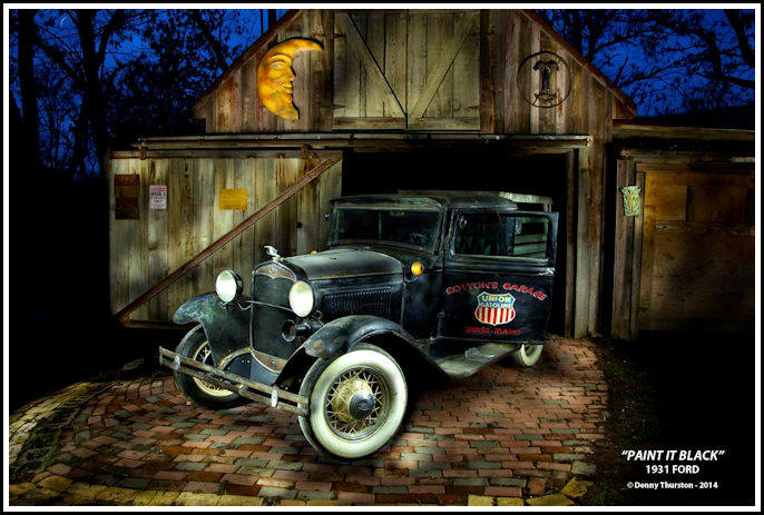 Vintage Automobile Photography
