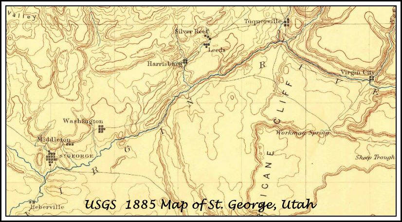 Old maps in the desert southwest with reviews 1885 usgs topo map gumiabroncs Choice Image