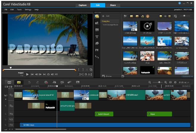 corel videostudio pro x8 download free