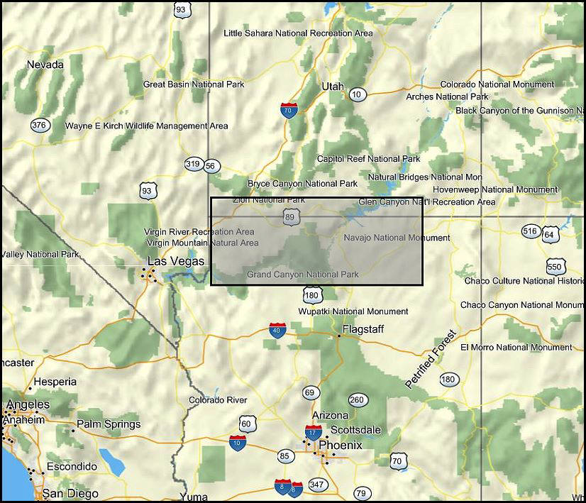 Map Of Arizona Strip.A Brief Look At The Most Unusual Petroglyphs Found In The Desert