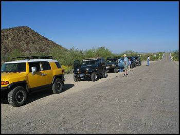 FJ Cruiser, Jeeps