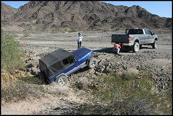 Off-roading