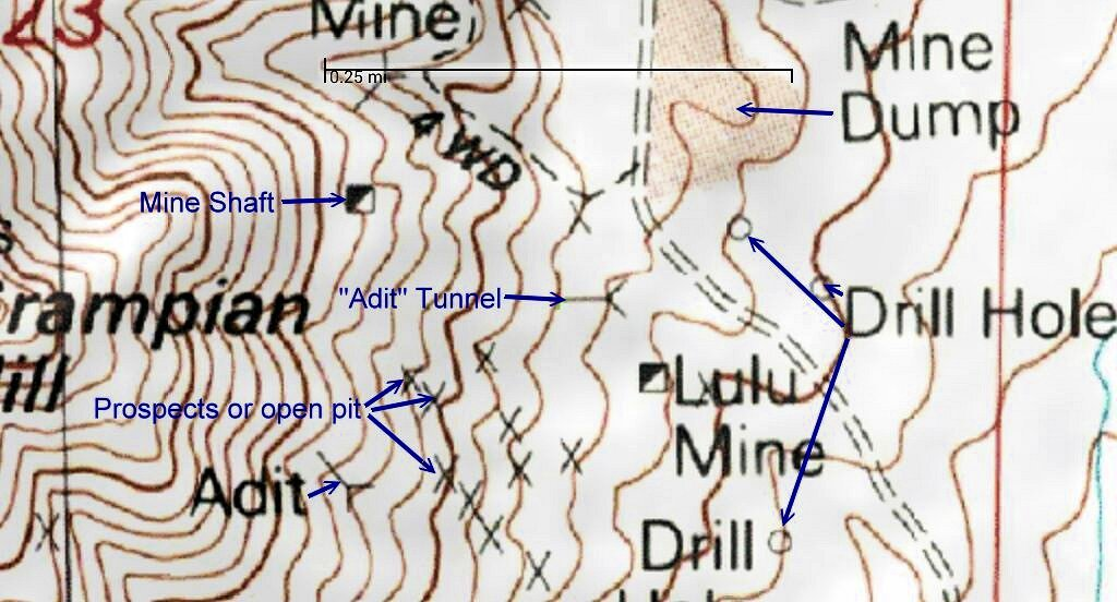 Topography Map Symbols And What They Mean