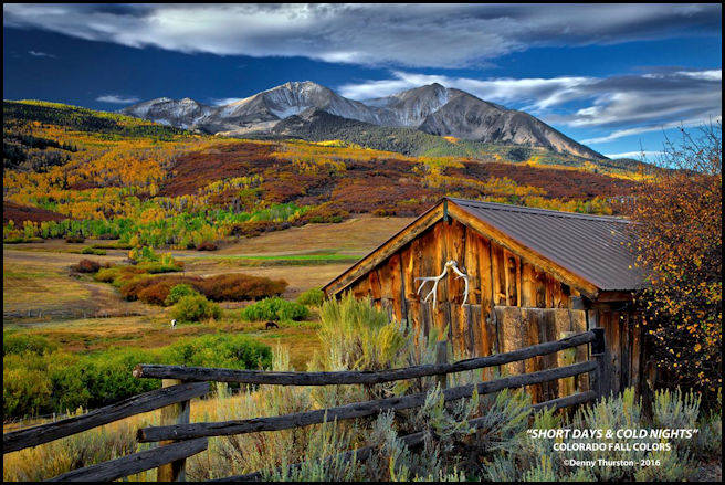 Fall Colors by Denny Thurston