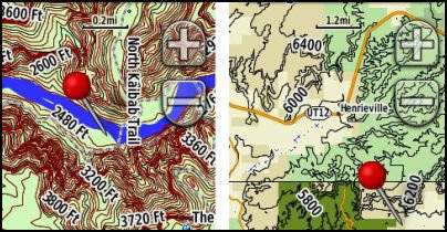 In the Desert Garmin Topo Maps GPS File Depot Maps
