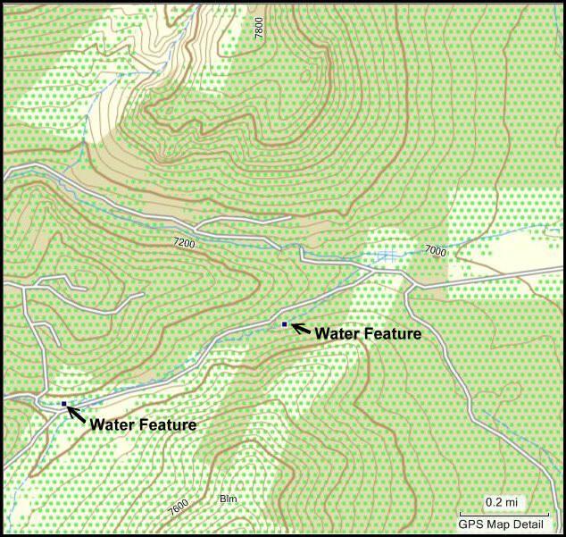 In The Desert Garmin Topo Maps GPS File Depot Maps - Topographic map of arizona