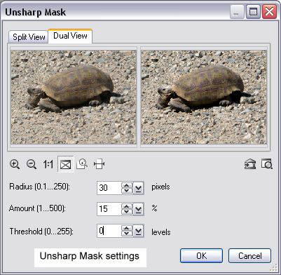 Unsharp Mask Software