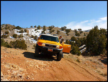 Off roading in Utah