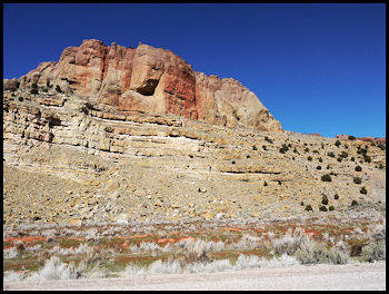 Red Hills, Parowan Gap, Utah