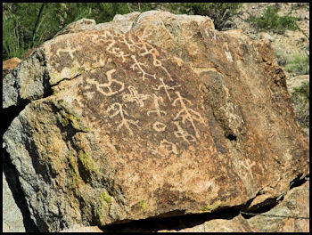 Indian Petroglyphs, Salome, Arizona