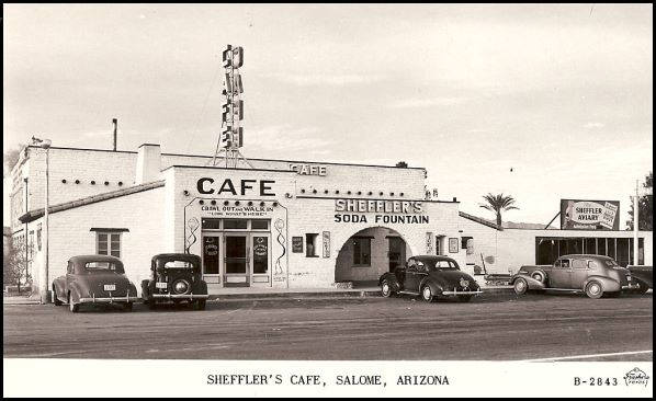 Sheffler's Cafe, Salome, Arizona