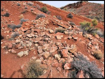 Miner's house foundation